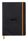 Rhodia Goalbook 6 X 8 1/4 A5 Black Cover Bullet Journal Cover Image
