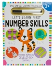 Let's Learn: First Number Skills (Write and Wipe) Cover Image