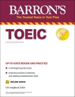 TOEIC (with online audio) (Barron's Test Prep) Cover Image