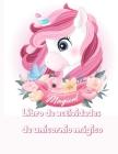 Libro de actividades de unicornio mágico: libro mágico, divertido y educativo de colorear, punto a punto, laberintos, búsqueda de palabras y más Cover Image