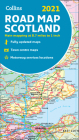 2021 Collins Road Map Scotland Cover Image