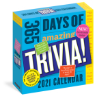 365 Days of Amazing Trivia! Page-A-Day Calendar 2021 Cover Image