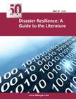 Disaster Resilience: A Guide to the Literature Cover Image