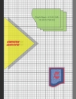 Graph Paper Notebook 8.5 x 11 IN, 21.59 x 27.94 cm: 1/8inch thin [0.5pt] & 1 inch thick [1pt] light gray grid lines perfect binding, non-perforated, D Cover Image