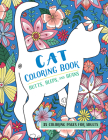 Butts, Bleps, and Beans Cat Coloring Book: 35 Coloring Pages for Adults Cover Image