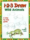 1-2-3 Draw Wild Animals Cover Image