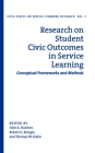 Research on Student Civic Outcomes in Service Learning: Conceptual Frameworks and Methods Cover Image