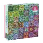 Succulent Spectrum 500 Piece Puzzle Cover Image