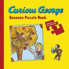 Curious George Seasons Puzzle Book Cover Image