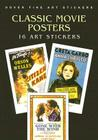 Classic Movie Posters: 16 Art Stickers Cover Image