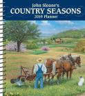 John Sloane's Country Seasons 2019 Monthly/Weekly Planner Calendar Cover Image