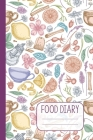Food Diary: 90 Day Daily Nutrition and Fitness Tracker Cover Image