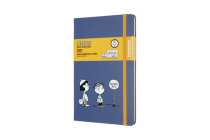 Moleskine 2021 Peanuts Weekly Planner, 12M, Large, School Bus, Hard Cover (5 x 8.25) Cover Image