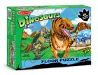 Land of Dinosaurs Floor (48 Pc) Cover Image