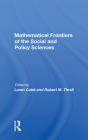 Mathematical Frontiers of the Social and Policy Sciences Cover Image