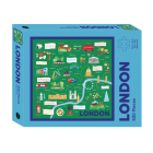 London Map: 500-Piece Jigsaw Puzzle (Map Puzzle) Cover Image