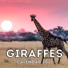 Giraffes 2021 Calendar: Cute Gift Idea For Giraffe Lovers Men And Women Cover Image
