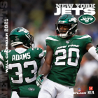 New York Jets 2021 12x12 Team Wall Calendar Cover Image