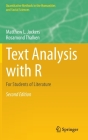 Text Analysis with R: For Students of Literature (Quantitative Methods in the Humanities and Social Sciences) Cover Image