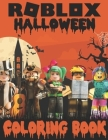 ROBLOX Halloween Coloring Book Cover Image