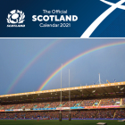 The Official Scottish Rugby Calendar 2022 Cover Image