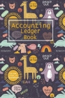Accounting Ledger Book: 6 Column Payment Record, Record and Tracker Log Book, Personal Checking Account Balance Register, Checking Account Tra Cover Image