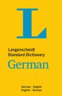 Langenscheidt Standard Dictionary German (Langenscheidt Standard Dictionaries) Cover Image