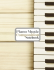 Piano Music Composition Notebook Cover Image