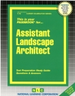 Assistant Landscape Architect: Passbooks Study Guide (Career Examination Series) Cover Image