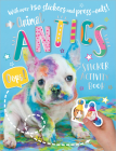 Animal Antics Sticker Activity Book Cover Image