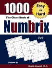 The Giant Book of Numbrix: 1000 Easy to Hard: (9x9) Puzzles Cover Image