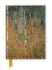 Gustav Klimt: The Birch Wood (Foiled Journal) (Flame Tree Notebooks) Cover Image