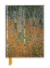 Gustav Klimt: The Birch Wood (Foiled Journal) (Flame Tree Notebooks) Cover Image