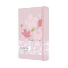 Moleskine Limited Edition Sakura Notebook, Large, Ruled, Dark Pink, Hard Cover (5 x 8.25) Cover Image
