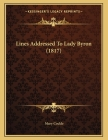Lines Addressed To Lady Byron (1817) Cover Image
