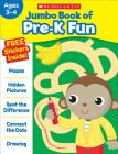 Jumbo Book of Pre-K Fun Workbook Cover Image