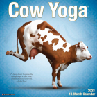 Cow Yoga 2021 Wall Calendar Cover Image