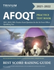 AFOQT Practice Test Book 2021-2022: 500+ Practice Exam Questions for the Air Force Officer Qualifying Test Cover Image