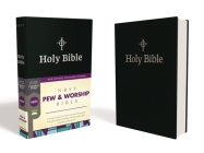 Nrsv, Pew and Worship Bible, Hardcover, Black, Comfort Print Cover Image