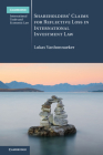 Shareholders' Claims for Reflective Loss in International Investment Law (Cambridge International Trade and Economic Law) Cover Image