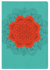 NKJV Essential Teen Study Bible, Personal Size, Coral Flower Cover Image