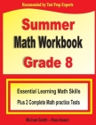 Summer Math Workbook Grade 8: Essential Learning Math Skills Plus Two Complete Math Practice Tests Cover Image