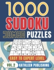1000 Sudoku Puzzle Books: Jumbo Sudoku Puzzle Books 4 diffilculty - Easy Medium Hard for Beginner to Expert Brain Game for adults Perfect Gift f Cover Image