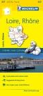 Michelin France: Loire, Rhône Map 327 (Maps/Local (Michelin)) Cover Image