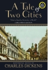 A Tale of Two Cities (Annotated, Large Print) Cover Image
