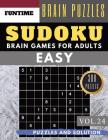 SUDOKU Easy: 300 easy SUDOKU with answers Brain Puzzles Books for Beginners (sudoku book easy Vol.24) Cover Image