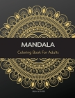 Mandala: Coloring book for adults Cover Image