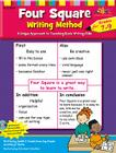 Four Square: Writing Method Grades 7-9 W/Enhanced CD: A Unique Approach to Teaching Basic Writing Skills Cover Image