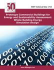 Prototype Commercial Buildings for Energy and Sustainability Assessment: Whole Building Energy Simulation Design Cover Image