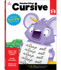 Handwriting: Cursive Workbook Cover Image